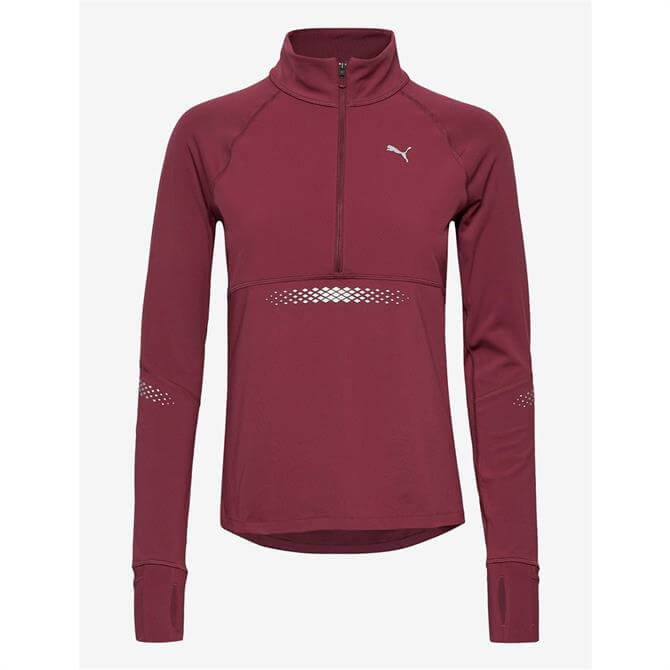 Puma Runner ID 1/4 Zip Sweatshirt