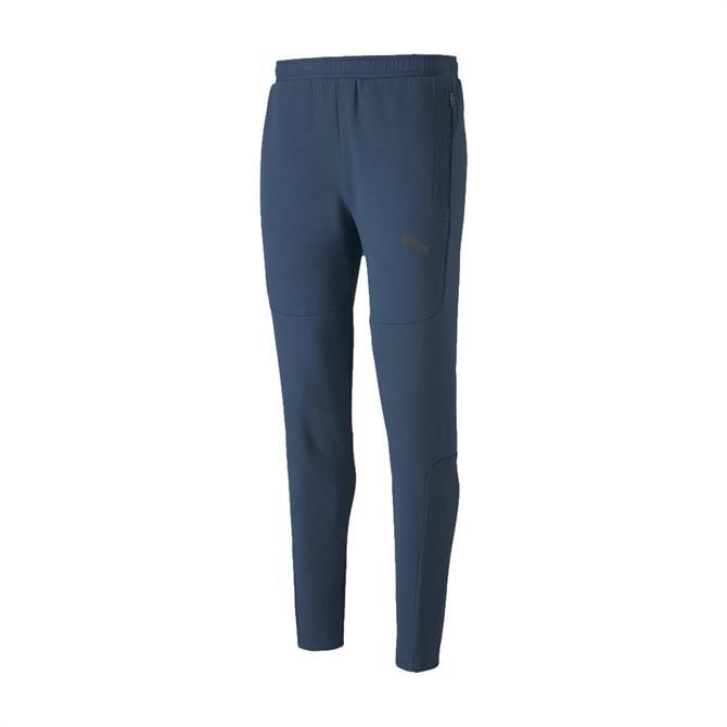 Puma Men's Evostripe Jogging Bottoms - Blue