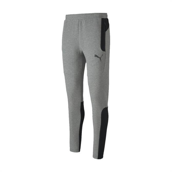 Puma Men's Evostripe Tracksuit Bottoms - Grey