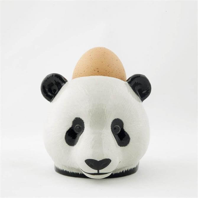 Quail Panda Face Egg Cup