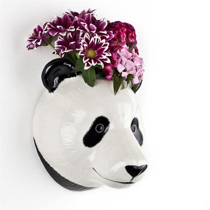 Quail Panda Wall Vase