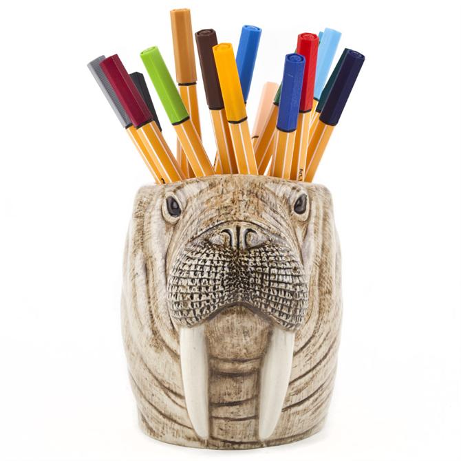 Quail Walrus Pencil Pot