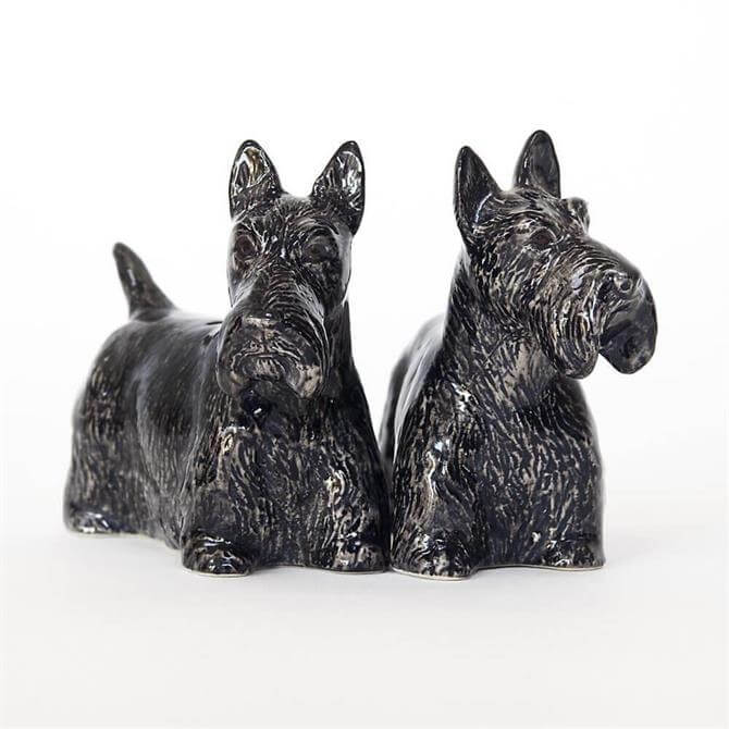 Quail Scottie Salt & Pepper