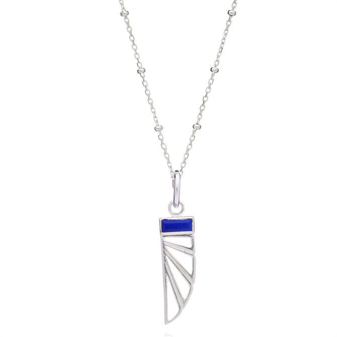 Rachel Jackson London Wings of Freedom Charm Necklace