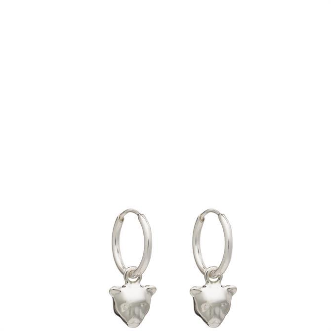 Rachel Jackson London Mini Panther Hoop Earrings