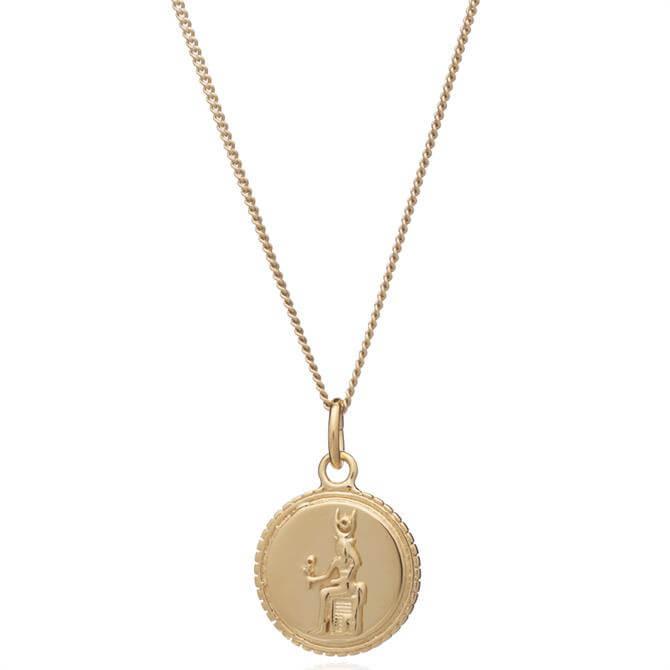 Rachel Jackson London Queen of Revelry Coin Necklace