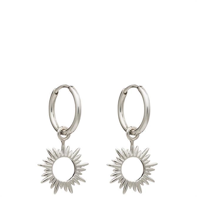 Rachel Jackson London Eternal Sun Mini Hoops Earrings