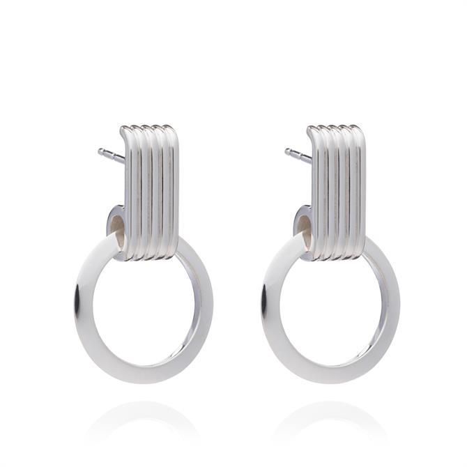 Rachel Jackson London Eternity Circle Hoop Earrings