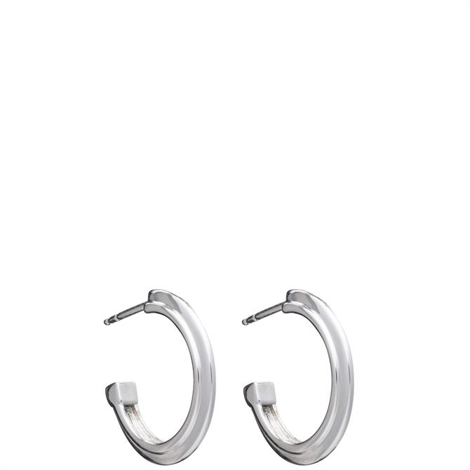 Rachel Jackson London Art Deco Stepped Hoop Earrings