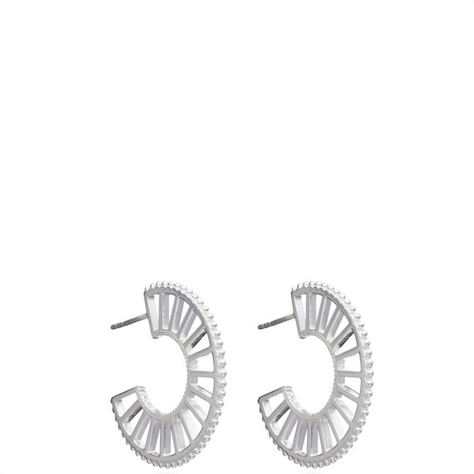 Rachel Jackson London Queen of Revelry Statement Hoop Earrings