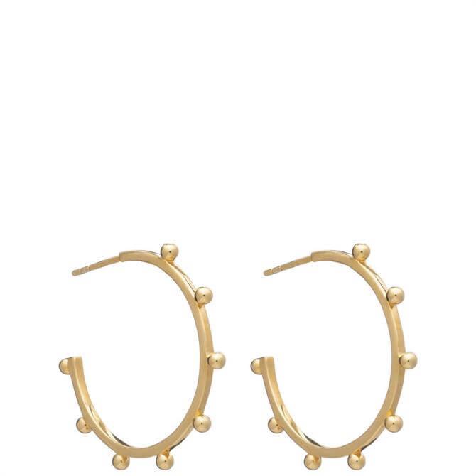 Rachel Jackson London Large Punk Hoop Earrings