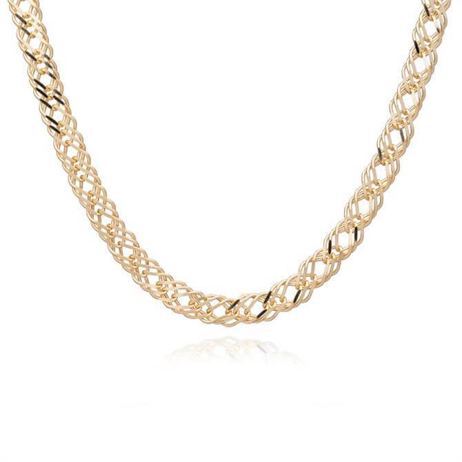 Rachel Jackson London Choker Style Statement Chevron Necklace
