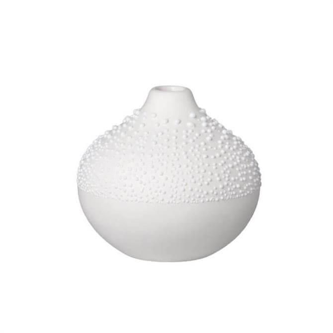 Rader White Pearl Beaded Vase Design 2