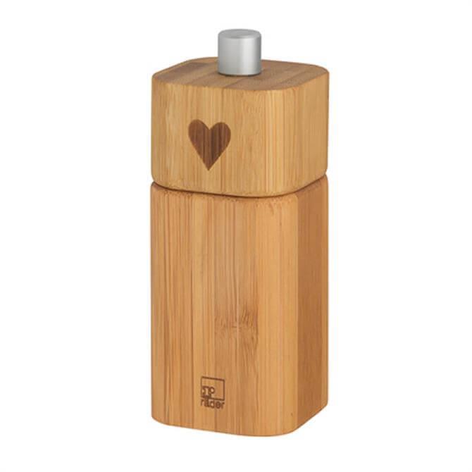 Rader Small Pepper Mill 'Motif Heart'