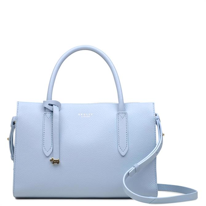 Radley Arlington Court Smoke Blue Medium Zip-Top Multiway Bag