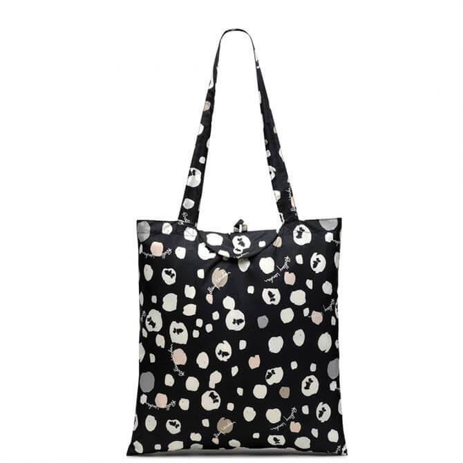 Radley Bubble Dog Foldaway Tote Bag