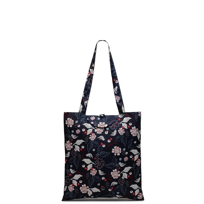 Radley Painterly Floral Foldaway Tote Bag