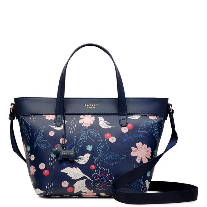 Radley Painterly Floral Medium Multiway Grab Bag