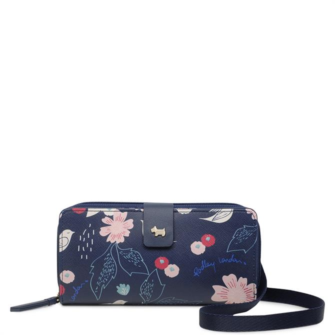 Radley Painterly Floral Large Multiway Phone Case