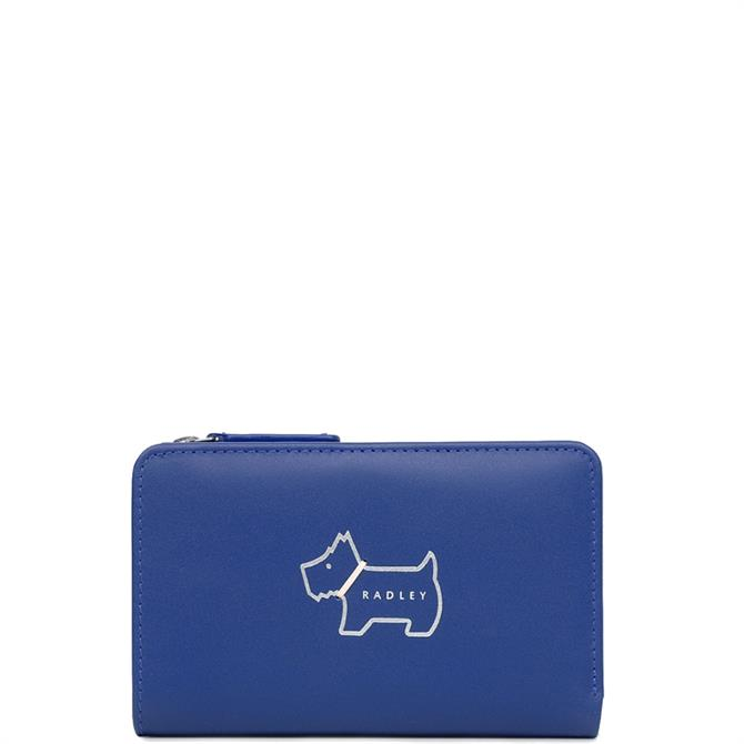 Radley Heritage Dog Outline Medium Bifold Purse