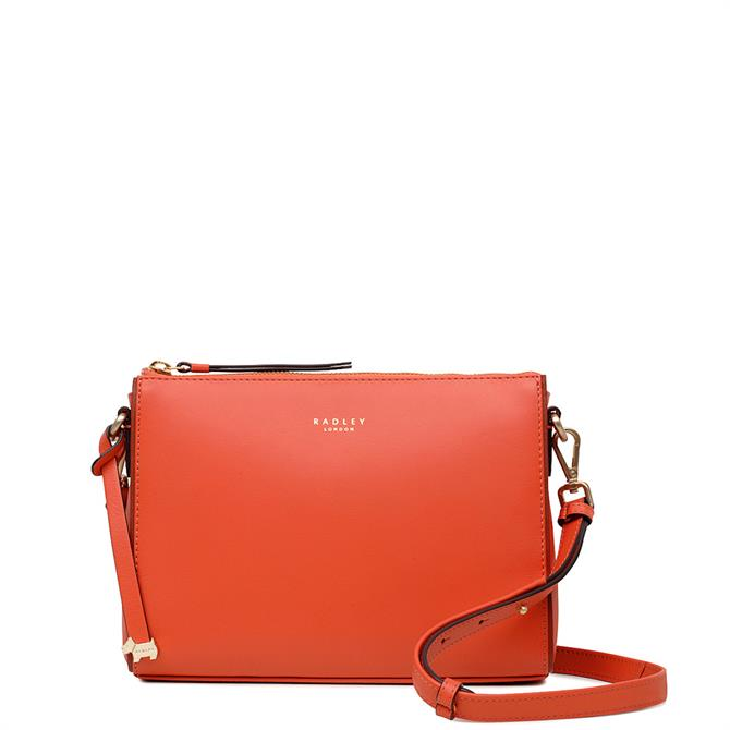 Radley Selby Street Small Zip Top Leather Cross Body Bag