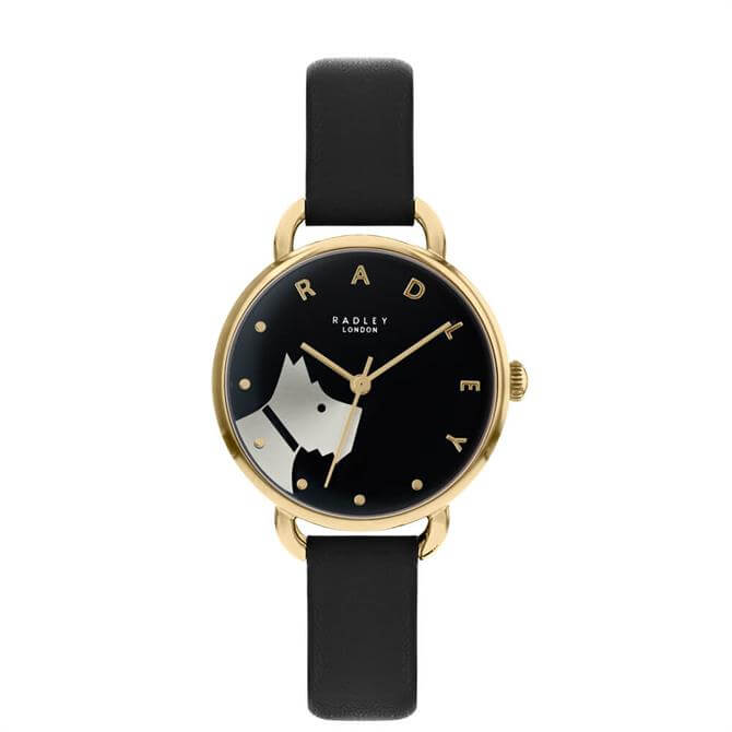 Radley Wood Street Pale Gold/Black Ladies Watch