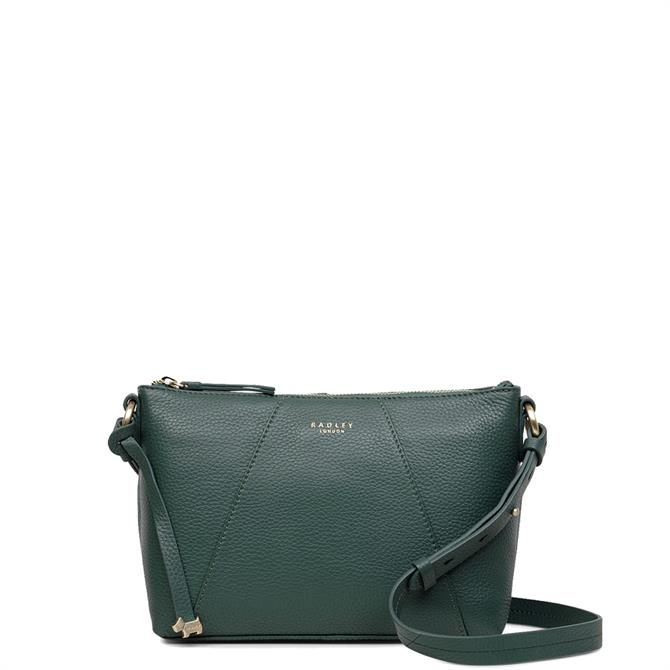 Radley Wood Street Seaweed Medium Zip Top Cross Body Bag
