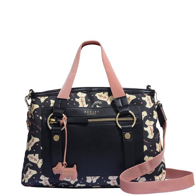 Radley London Dotty Dog Medium Zip Top Multiway Bag