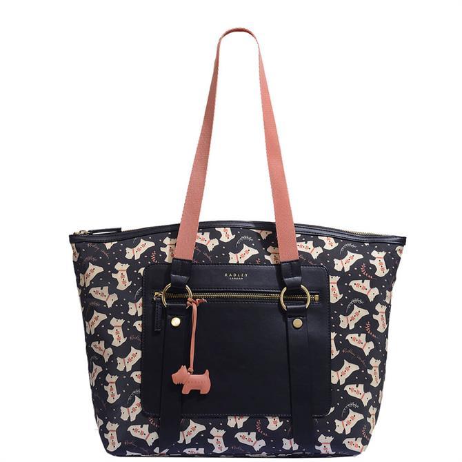 Radley London Dotty Dog Large Zip Top Tote Bag
