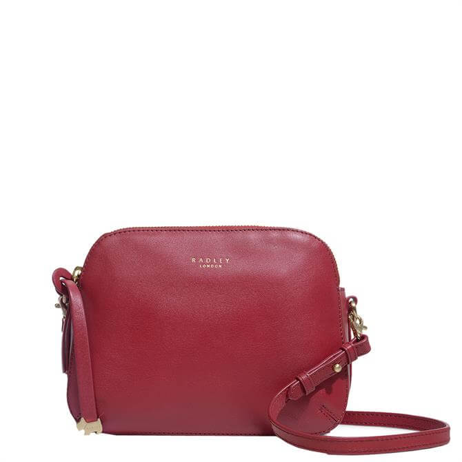 Radley London Red Dukes Place Medium Zip Top Cross Body Bag
