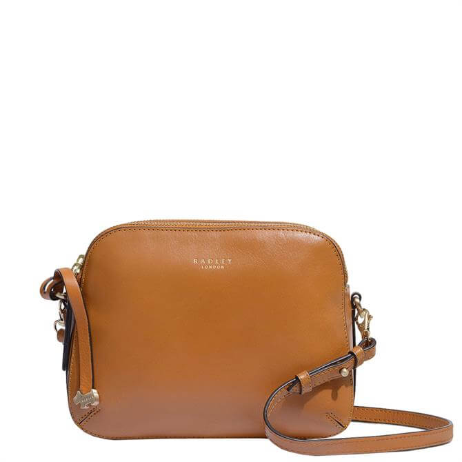 Radley London Dukes Place Tan Medium Zip-Top Cross Body Bag