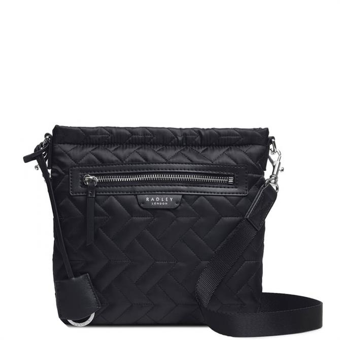 Radley London Finsbury Park - Quilt Black Small Zip-Top Cross Body Bag