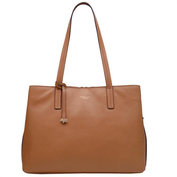 Radley London Dukes Place Tan Large Open Top Work Bag