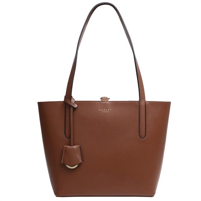 Radley London Grace Street Brown Medium Open Top Tote Bag