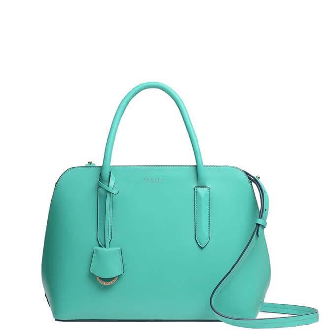Radley London Liverpool Street Ocean Blue 2.0 Medium Zip-Top Multiway Bag