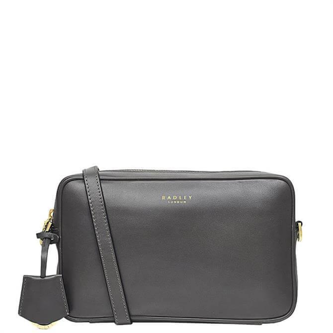 Radley London Manor Grove Thunder Grey Small Zip Top Camera Bag