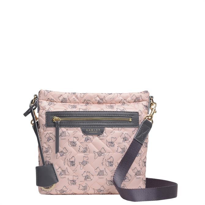 Radley London Maple Cross - Signature Quilt Small Zip-Top Cross Body Bag