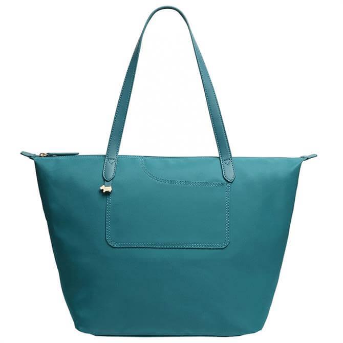 Radley London Pockets Essential - Responsible Teal Large Zip-Top Tote Bag