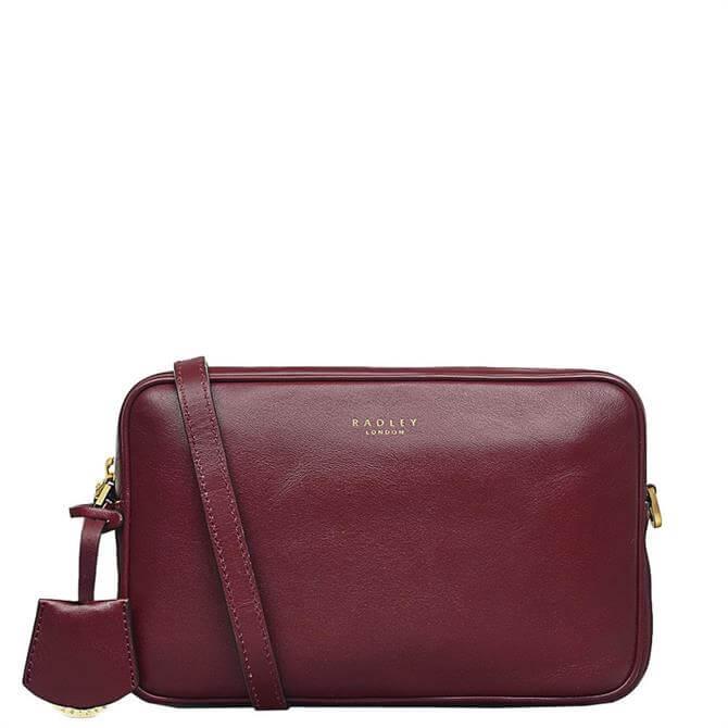 Radley London Manor Grove Merlot Small Zip Top Camera Bag