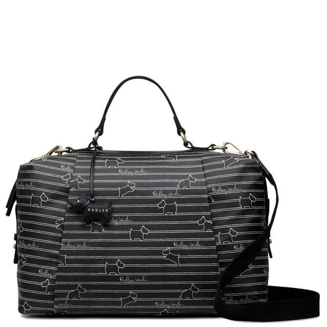Radley Stripe Medium Zip Around Multiway Bag