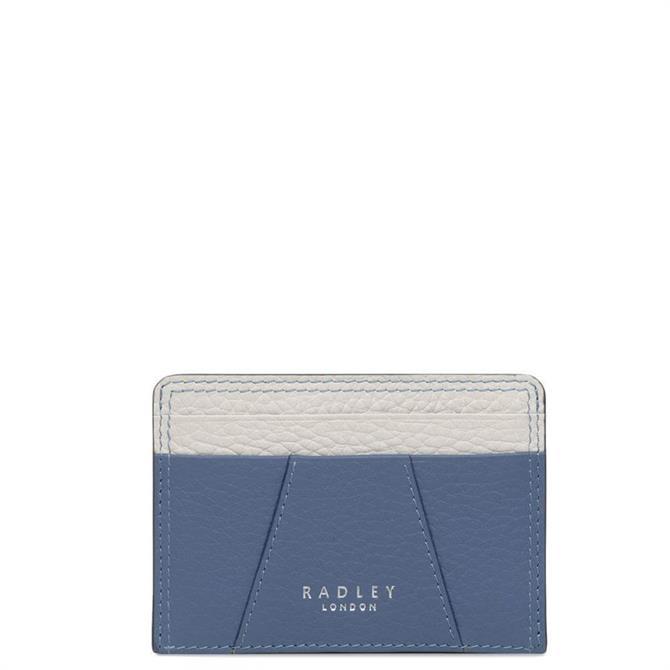 Radley Wood Street Denim Blue Card Holder