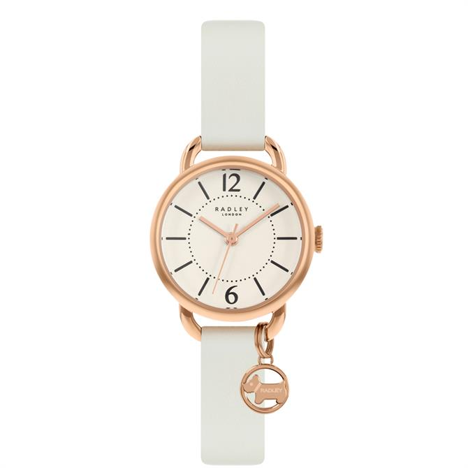 Radley Crest Chalk Leather Watch