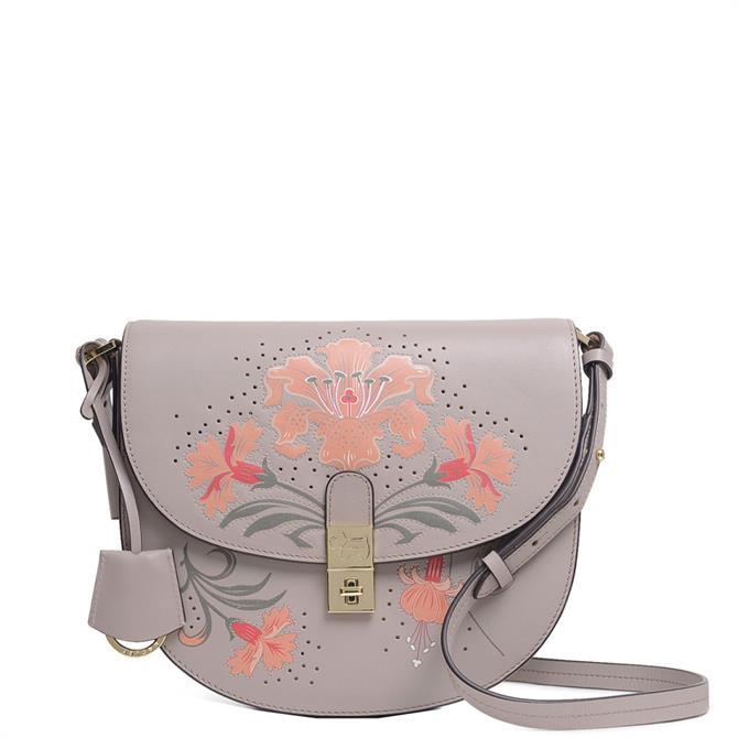 Radley London Grange Lane Floral Medium Flapover Cross Body Bag