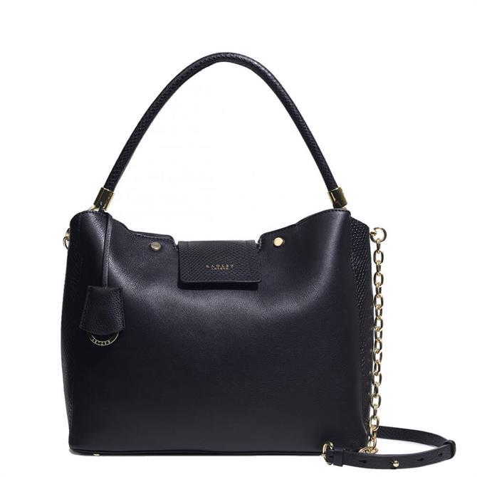 Radley London Chelsea Creek Black Medium Zip-Top Multiway Bag