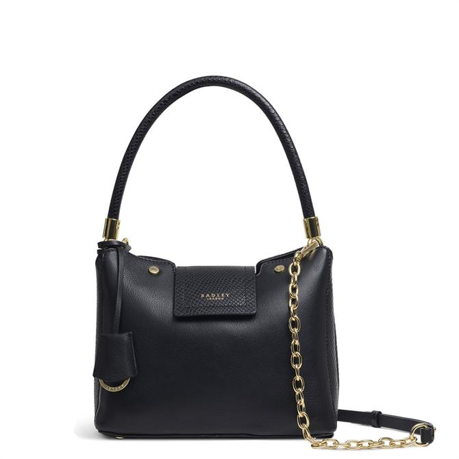 Radley London Chelsea Creek Black Small Zip-Top Multiway Bag
