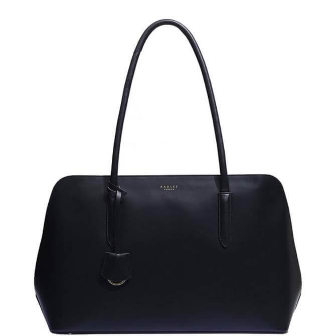 Radley London Liverpool Street Black 2.0 Large Zip-Top Work Bag