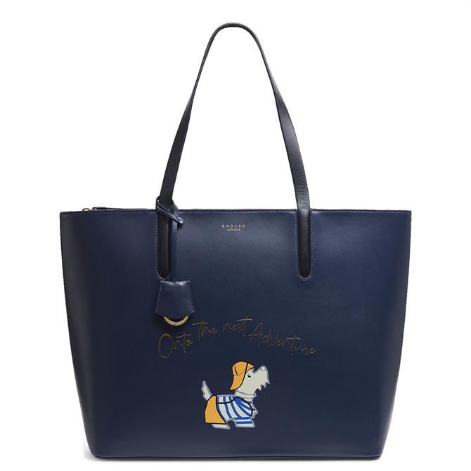 Radley London Fisherman Dog Large Zip Top Shoulder Bag