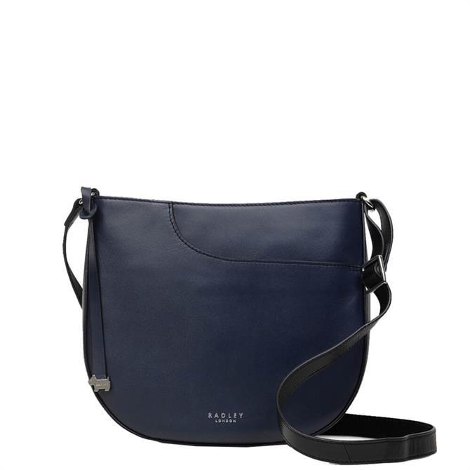 Radley London Pockets Ink Blue Medium Zip-Top Cross Body Bag