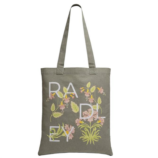 Radley London Deco Letters Medium Tote Bag