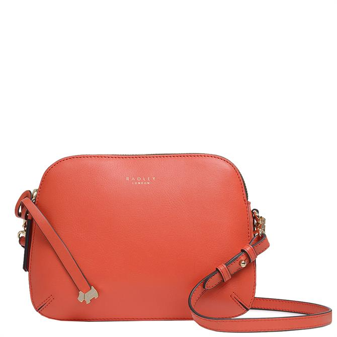 Radley London Dukes Place Red Pepper Medium Zip-Top Cross Body Bag